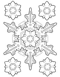 Snowflake Designs Coloring Book Dover Publications