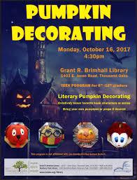 Free Online Books About Pumpkins by Pumpkin Decorating Calendar Month View Thousand Oaks Ca