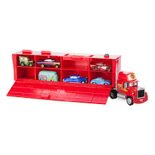 Mack Friction Motor Hauler Truck Plus Six Pullback Cars Set | ShopDisney