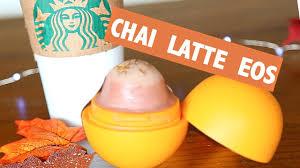 Dunkin Donuts Pumpkin Latte by Diy Chai Latte Eos Lip Balm Starbucks Inspired Youtube
