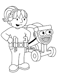 Full Size Of Coloring Pagesmarvelous Bob The Builder Pages And Scoop 7 Com