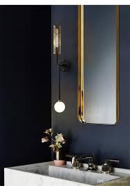 großhandel nordic ins wohnzimmer obi wandlen licht luxus spiegel scheinwerfer aisle balkon schlafzimmer nachtdoppelkopfwandleuchte beleuchtung