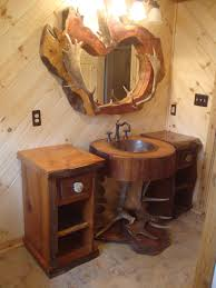 Primitive Bathroom Design Ideas by How To Create Rustic Bathroom Mirrors Design Best Decor Things