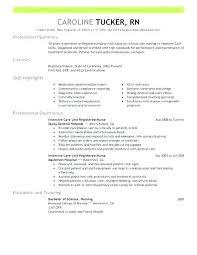 Sample Resume Registered Nurse Philippines Of Graduate Nursing Create My For New Sam