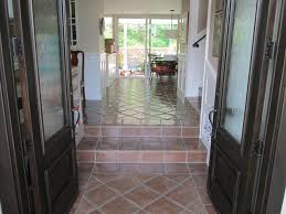 Saltillo Tile Sealer Exterior by Professional Mexican Saltillo Tile Cleaning Los Angeles Terra