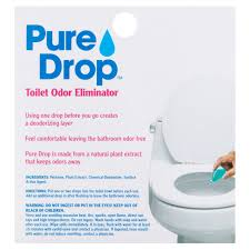 Bathroom Cold Water Smells Like Rotten Eggs by Pure Drop Toilet Odor Eliminator 0 67 Fl Oz Walmart Com