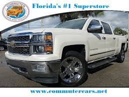 Used 2014 Chevy Silverado 1500 LTZ 4X4 Truck For Sale Ft. Pierce FL ...