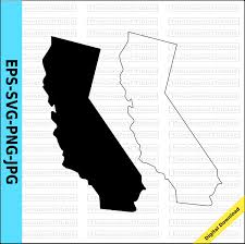 Us Map Transparent Background California Plain Outline No Clipart 26 Valid State Svg