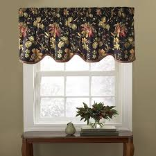 Jacobean Floral Country Curtains by Amazon Com Waverly 10982050x015no Felicite 50 Inch By 15 Inch