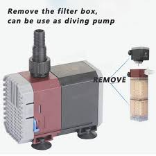 Oil Rain Lamp Pump by Aquarium Oxygen Pump Filter Submersible Pump Internal Spray Bar