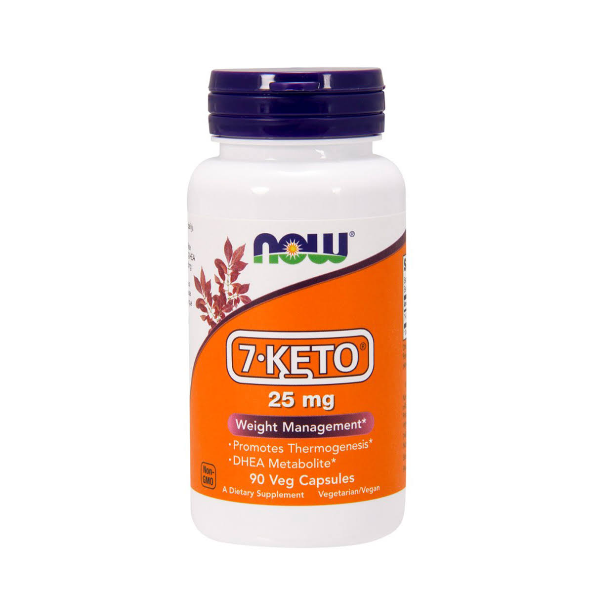NOW Foods 7-Keto Weight Management Supplement - 90 Vcaps