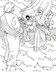 Jesus Walks On Water Preschool