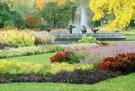 Flowers For Flower Beds by Flower Beds Fountain Flowers Water Petals Nature Beauty Beautiful