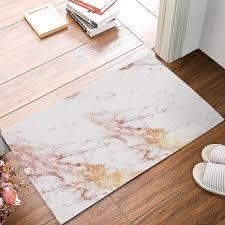palme blätter fußmatte teppich badezimmer plüsch anti rutsch