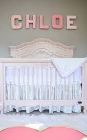 Bratt Decor Joy Crib by Evolur Aurora Wooden 5 In 1 Convertible Crib Blush Pink Pearl