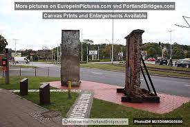 Pieces Of Berlin Wall And Gdansk Shipyard
