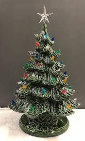 SALE VINTAGE Style Ceramic Christmas Tree 19