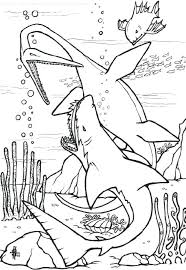Full Image For Free Coloring Pages Shark Tale Of Sharkboy And Lavagirl Page
