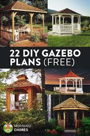 Diy Under Deck Ceiling Kits Nationwide by 22 Free Diy Gazebo Plans U0026 Ideas To Build With Step By Step