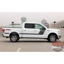 100 Ford Truck Packages F150 Decals FORCE TWO Stripes Appearance Package Hockey Side