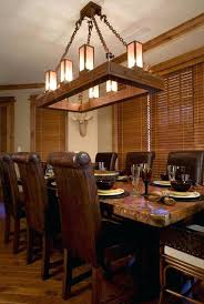 Lovely Rustic Dining Room Lights With Light Fixtures Lighting Diy Dini