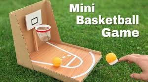 How To Make Amazing DIY Basketball Game At Home Out Of Cardboard