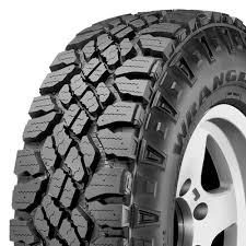 100 Goodyear Wrangler Truck Tires DuraTrac 25555R19 111Q XL AT AT All Terrain Tire
