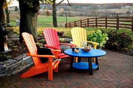 Navy Blue Adirondack Chairs Plastic by Unique Plastic Colored Adirondack Chairs With Poly Outdoor