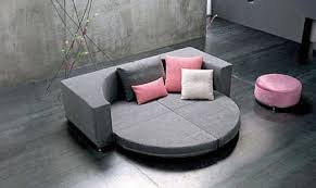 canapé circulaire canape rond convertible maison design wiblia com