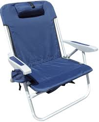 Rio Backpack Chair Aluminum by Rio Brands Extra Wide Backpack Beach Chair 49 95