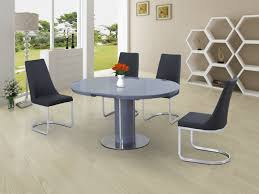 Round Grey Glass High Gloss Dining Table And 4 Chairs -Homegenies Kitsch Round Glass Table Set Of 4 Chairs Dfs Ireland Mcombo Mcombo Ding Side 4ding Clear Ingatorp And Chairs White Ikea Cally Modern Table With La Sierra Fniture Grindleburg 60 Woodstock Carisbrooke Barker Stonehouse Dayton 48 Upholstered Shop Hlpf5cap 5 Pc Small Kitchen Setding Hanover Traditions 5piece In Tan A Jofran Simplicity Chair Slat Back Pier 1 W Aptdeco Rovicon Lulworth Pedestal