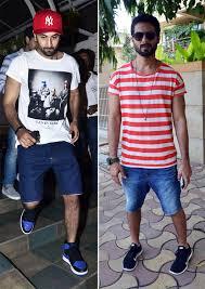 Battle of the Boys Shahid Kapoor & Ranbir Kapoor s Casual Looks