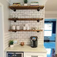 49 stilvolle rustikale küche dekor offene regale ideen