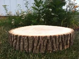 12 14 Rustic Wedding Cake Stand Decor Wood Tree Slice
