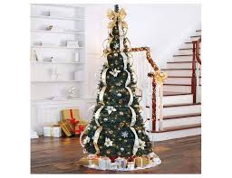 7ft Slim Christmas Tree by Slim Pop Up Christmas Tree Princess Decor