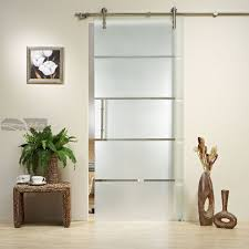 Indoor Sliding Barn Doors Stainless Glass — John Robinson House ... Best 25 Sliding Barn Doors Ideas On Pinterest Barn Bathrooms Design Hard Wood Doors Bathroom Privacy Door For Closet Step By 50 Ways To Use Interior In Your Home For Homes 28 Images Decoration Hdware Inside Sliding Door Asusparapc 4 Ft Kits