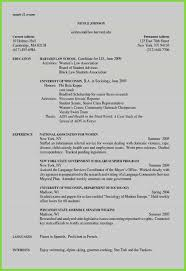 New Resume Examples Hobbies And Interest