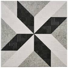 somertile 6x6 inch zona grey porcelain floor and wall tile