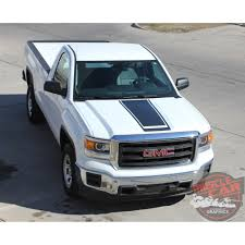 GMC Sierra MIDWAY Center Hood & Tailgate Vinyl Graphic Decal Racing ... Gmc Sierra 2014 Pictures Information Specs Crew Cab 2013 2015 2016 2017 2018 Slt Z71 Start Up Exhaust And In Depth Review Youtube Inventory Stuff I Want Pinterest Trucks Bob Hurley Auto 1500 Information Photos Momentcar Dont Lower Your Tailgate Gm Details Aerodynamic Design Of Gmc Southern Comfort Black Widow Lifted Road Test Tested By Offroadxtremecom Interior Instrument Panel Close Up Reality