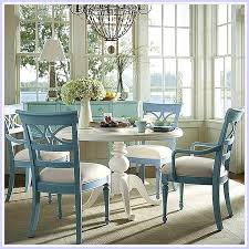 Lush Color Dining Room Furniture Table And Chairs Beautiful Inspiring Blue White Of Green Kitchen