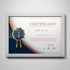 Certificado De Conclusão Até 10 Nomes Arte Digital 06