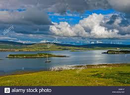 100 Colbost Loch Dunvegan Isle Of Skye Scotland United Kingdom Stock