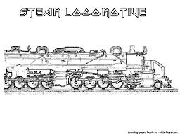 Steel Wheels Train Coloring Sheet New Steam Locomotive Pages