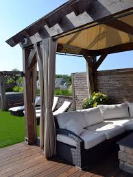 5 DIY Shade Ideas For Your Deck Or Patio | HGTV's Decorating ... Interior Shade For Pergola Faedaworkscom Diy Ideas On A Backyard Budget Backyards Amazing Design Canopy Diy For How To Build An Outdoor Hgtv Excellent 10 X 12 Alinum Gazebo With Curved Accents Patio Sails And Tension Structures Best Pergola Your Rustic Roof Terrace Ideas Diy Retractable Shade Canopy Cozy Tent Wedding Youtdrcabovewooddingsetonopenbackyard Cover
