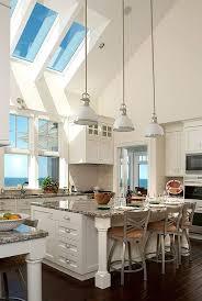 marvelous kitchen island lighting for vaulted ceiling fresh idea