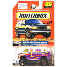 Amazon.com: Matchbox 1998 At Your Service Chevrolet Chevy Van Snack ...
