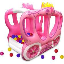 Princess Kitchen Play Set Walmart by Little Tikes Enchanted Princess Carriage Ball Pit Walmart Com