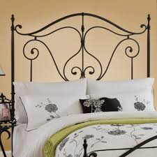 White Wrought Iron King Size Headboards by Unique Rod Iron Headboards 16 On Headboard Pillow With Rod Iron