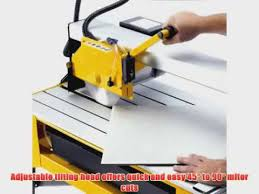 Ryobi Tile Saw Water Pump by Qep 83200 24 Inch Bridge Tile Saw With Water Pump And Stand