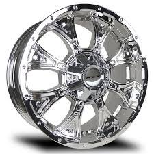 100 Chrome Truck Wheels RTX TAURUS Rims 20 X 9